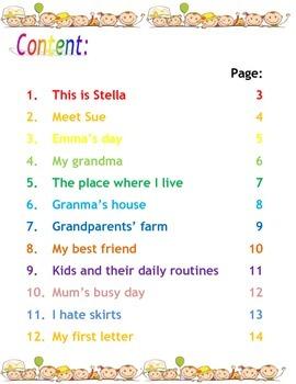 ESL Short Reading Comprehension Passages (Children)