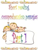 ESL Short Reading Comprehension Passages (Children)