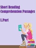 ESL Short Reading Comprehension Passages (Part1)