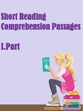 ESL Short Reading Comprehension Passages (Part1)
