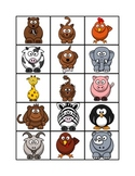 ESL - Spanish Animal Memory Game