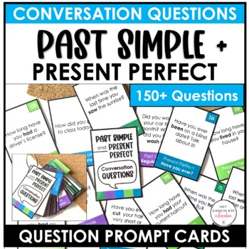 ESL - Speaking Activities - 200 Past Simple & Present Perfect Question Cards