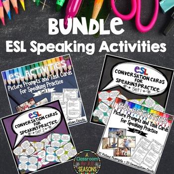 ESL Speaking Activities: Bundle