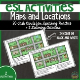 ESL Speaking Activities: Maps and Buildings