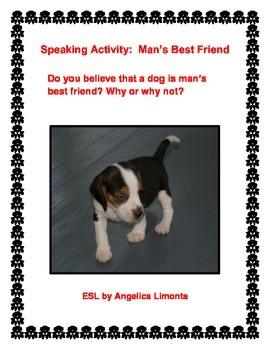 English Speaking Activities: Man's Best Friend & My Hobbies