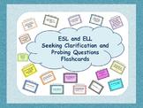 ESL Speaking Flashcards - Asking Probing  and Clarifying Q