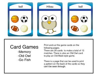 ESL Sports Vocabulary Presentation and Games