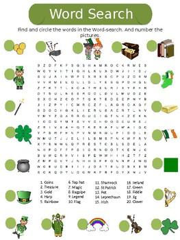 ESL St. Patrick's Day Vocabulary