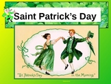 ESL ENL St. Saint Patrick's Day PowerPoint Presentation