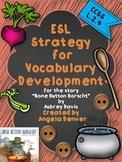 ESL Strategy for Vocabulary Development for Bone Button Borscht