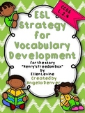 ESL Strategy for Vocabulary Development for Henry's Freedo