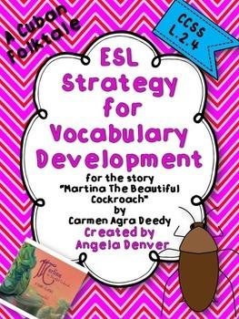 ESL Strategy for Vocabulary Development for Martina the Be
