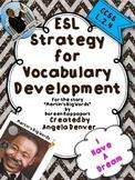 ESL Strategy for Vocabulary Development for Martin's Big Words