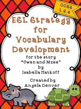 ESL Strategy for Vocabulary Development for Owen and Mzee