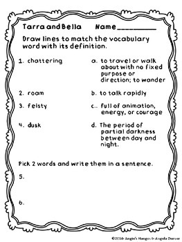 ESL Strategy for Vocabulary Development for Tarra and Bella