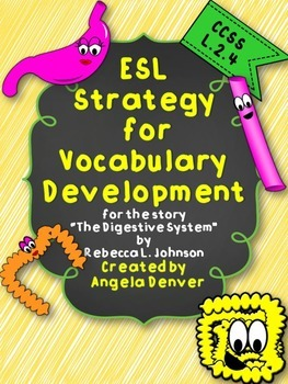 ESL Strategy for Vocabulary Development for The Digestive System