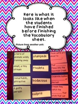 ESL Strategy for Vocabulary Development for The Pied Piper's Magic