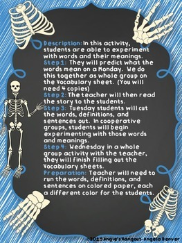ESL Strategy for Vocabulary Development for The Skeleton Inside You