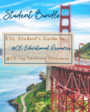 ESL Student's Guide to aCE-ing Sentence Structure - Student Bundle
