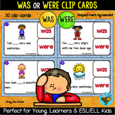 Subject Verb Agreement (was-were)   Easy Grammar for Young Learners and ESL Kids