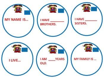 Task Cards: I am Super...