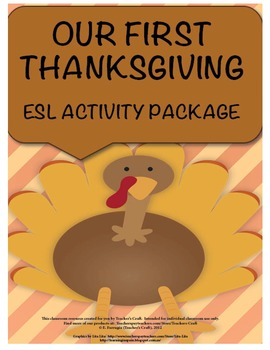 ESL THANKSGIVING PACKET