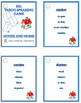 Taboo speaking games growing bundle - English vocabulary building games