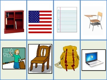 Task Cards: Classroom Objects