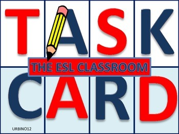 Classroom Objects Task Cards