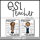 ESL Teacher Poster [Someone Who]