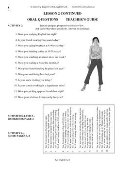 ESL Teen Adult Curriculum Module 2 Part One