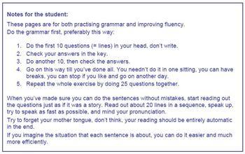 ESL Tense Exercises (mixed tenses, pre-intermediate and intermediate level)