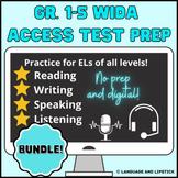 Gr. 1-5 WIDA ACCESS Elementary ESL Test Prep