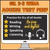 ESL Test Prep Package Gr. 2-3