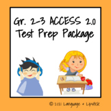 ESL Test Prep Package Gr. 2-3