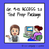 ESL Test Prep Package Gr. 9-12
