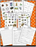 ESL Thanksgiving Listening Multi-level Dictation & Activities (printable, audio)