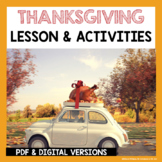 ESL Thanksgiving and ESL Newcomer Activities