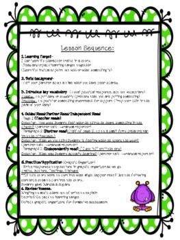 ESL- The Creature (Reading Comprehension Lesson)
