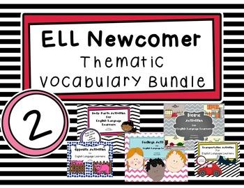 ESL Thematic Vocabulary Bundle 2