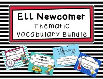 ESL Thematic Vocabulary Bundle