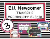 ESL Thematic Vocabulary Bundle 3