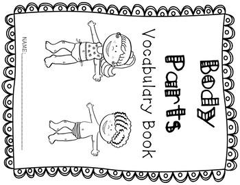 ESL Thematic Vocabulary Flip Books Bundle
