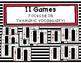 ESL Thematic Vocabulary Games Bundle 2