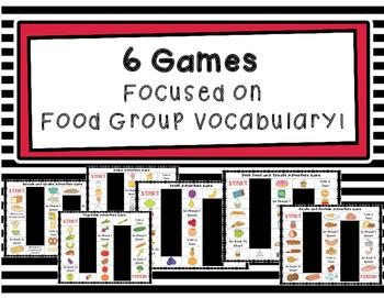 ESL Thematic Vocabulary Games Bundle