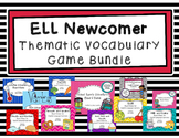ESL Thematic Vocabulary Games Bundle