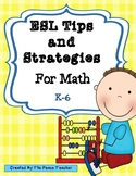 ESL Tips and Strategies for Math