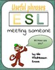 ESL - USEFUL PHRASES POSTERS