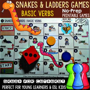 ESL Games: Basic Verbs