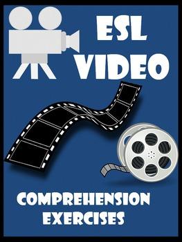 GROWING BUNDLE!    ESL VIDEO comprehension exercises